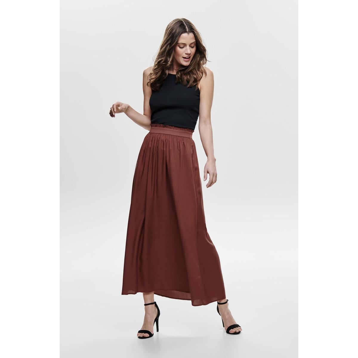 onlvenedig paperbag long skirt wvn 15164606 only rok henna