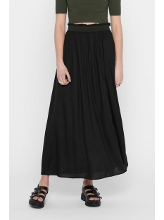 Only Rok ONLVENEDIG PAPERBAG LONG SKIRT WVN 15164606 Black