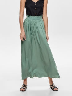 Only Rok ONLVENEDIG PAPERBAG LONG SKIRT WVN 15164606 Chinois Green