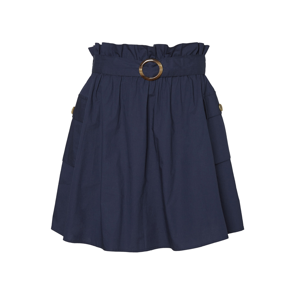 vmhalki pocket mini skirt kaa 10216209 vero moda rok navy blazer