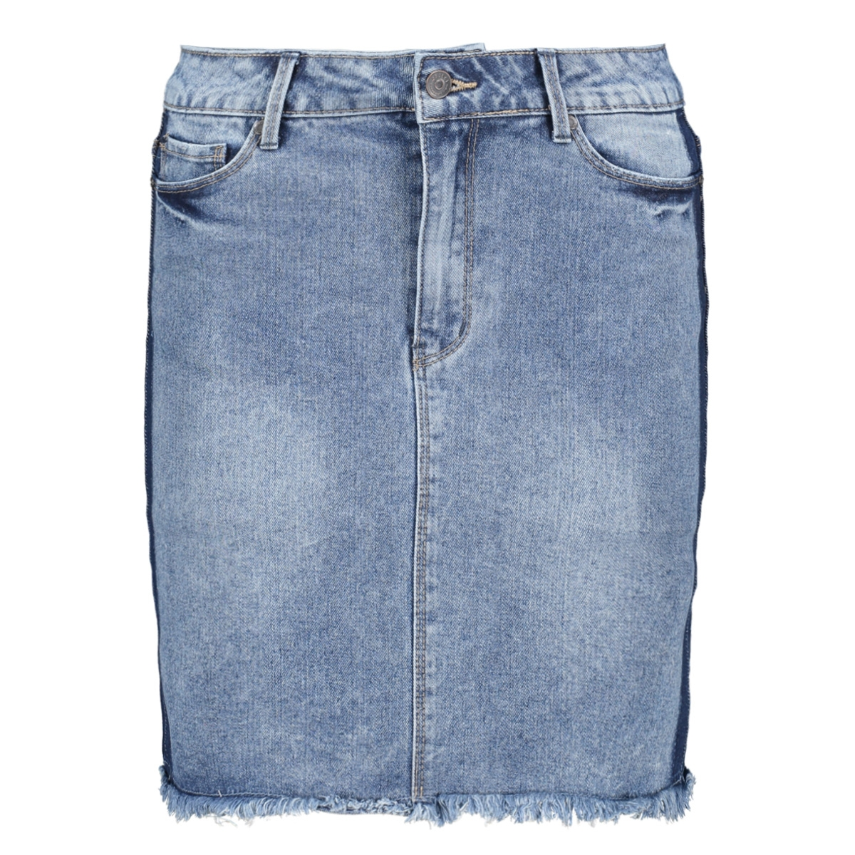 objroberta sarah denim skirt 103 23029517 object rok medium blue denim