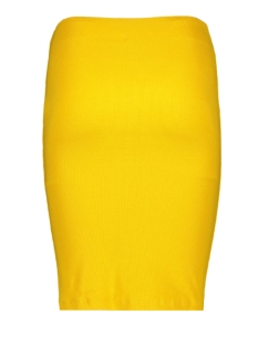 viconia pencil skirt 14054659 vila rok golden rod