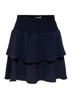 Only Rok ONLMARIANA MYRINA LAYERED SKIRT WVN 15178518 Night Sky