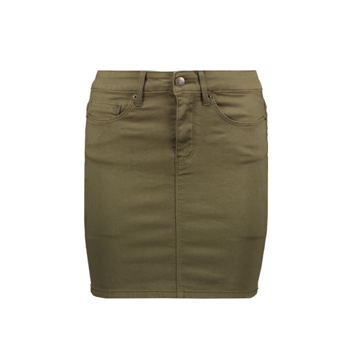 vmhot seven mr short skirt color 10209896 vero moda rok ivy green