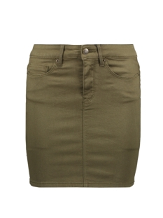 Vero Moda Rok VMHOT SEVEN MR SHORT SKIRT COLOR 10209896 Ivy Green