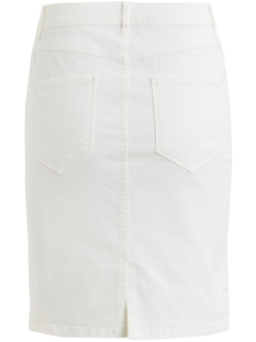 vicommit felicia short skirt - fav 14052061 vila rok snow white