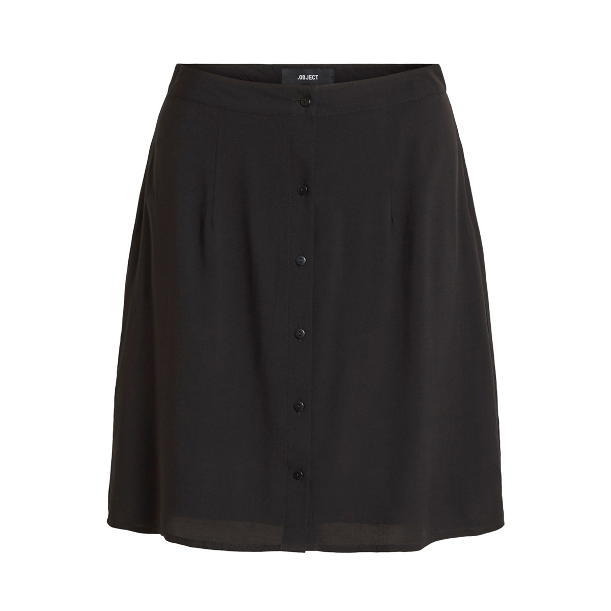 objclarissa short skirt 103 23029861 object rok black/solid