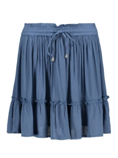 Only Rok ONLROBIN SHORT SKIRT WVN 15176629 Copen Blue