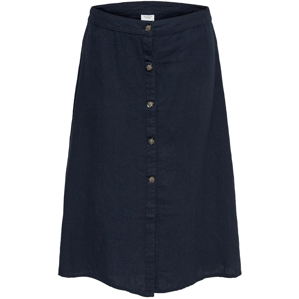jdykimmi button skirt wvn 15176790 jacqueline de yong rok navy blazer