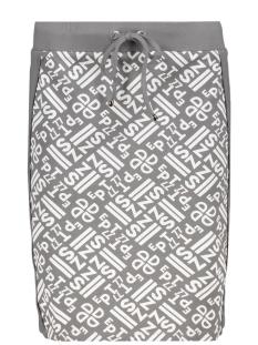 simone allover printed skirt 192 zoso rok grey