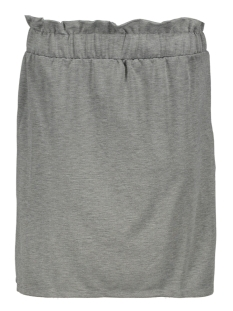 Vero Moda Rok VMROMA HW SHORT SKIRT JRS 10212464 Light Grey/Mela/MELANGE