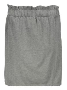 vmroma hw short skirt jrs 10212464 vero moda rok light grey/mela/melange