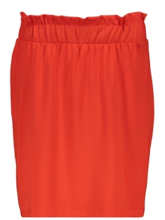 Vero Moda Rok VMROMA HW SHORT SKIRT JRS  10212464 Fiery Red/SOLID