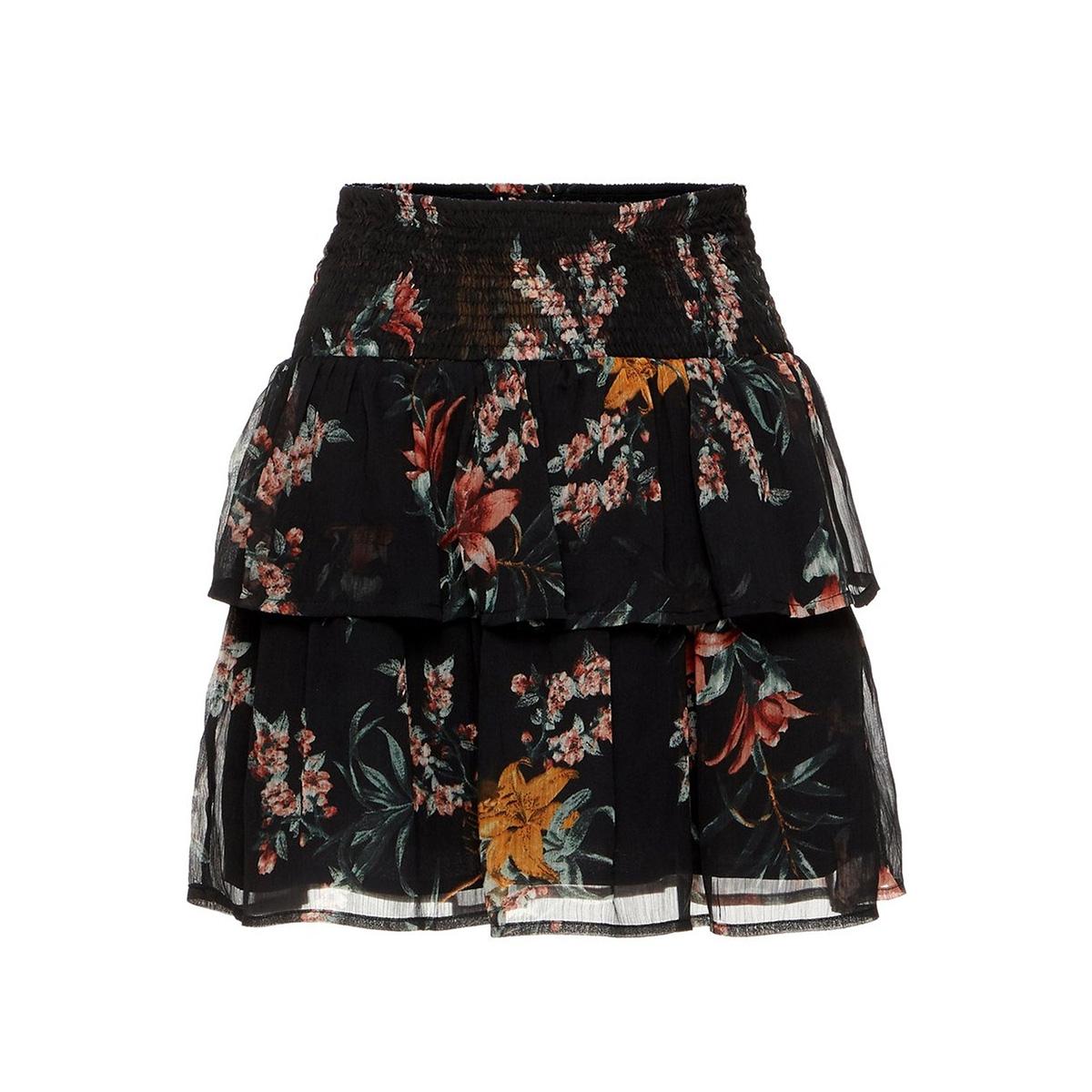 vmwonda h/w smock short skirt exp 10217174 vero moda rok black