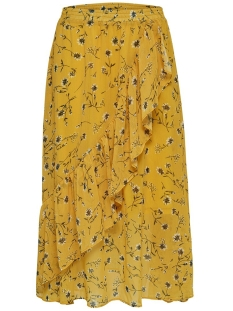 onlsheena mid skirt wvn 15176514 only rok mango mojito/flower fie