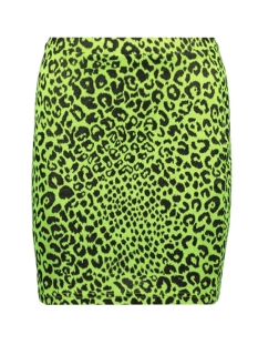 Only Rok ONLNETE SHORT SKIRT CS JRS 15194036 Neon Yellow/LEO