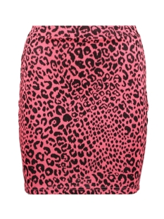Only Rok ONLNETE SHORT SKIRT CS JRS 15194036 Neon Pink/LEO