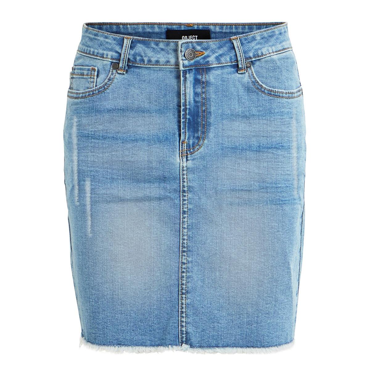 objsarah mw skirt light blue 101 di 23029855 object rok light blue denim