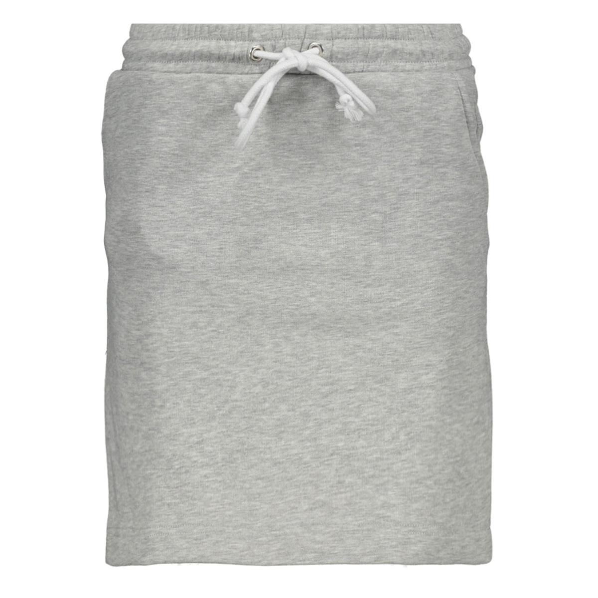 pcemila mw skirt d2d 17101329 pieces rok light grey melange