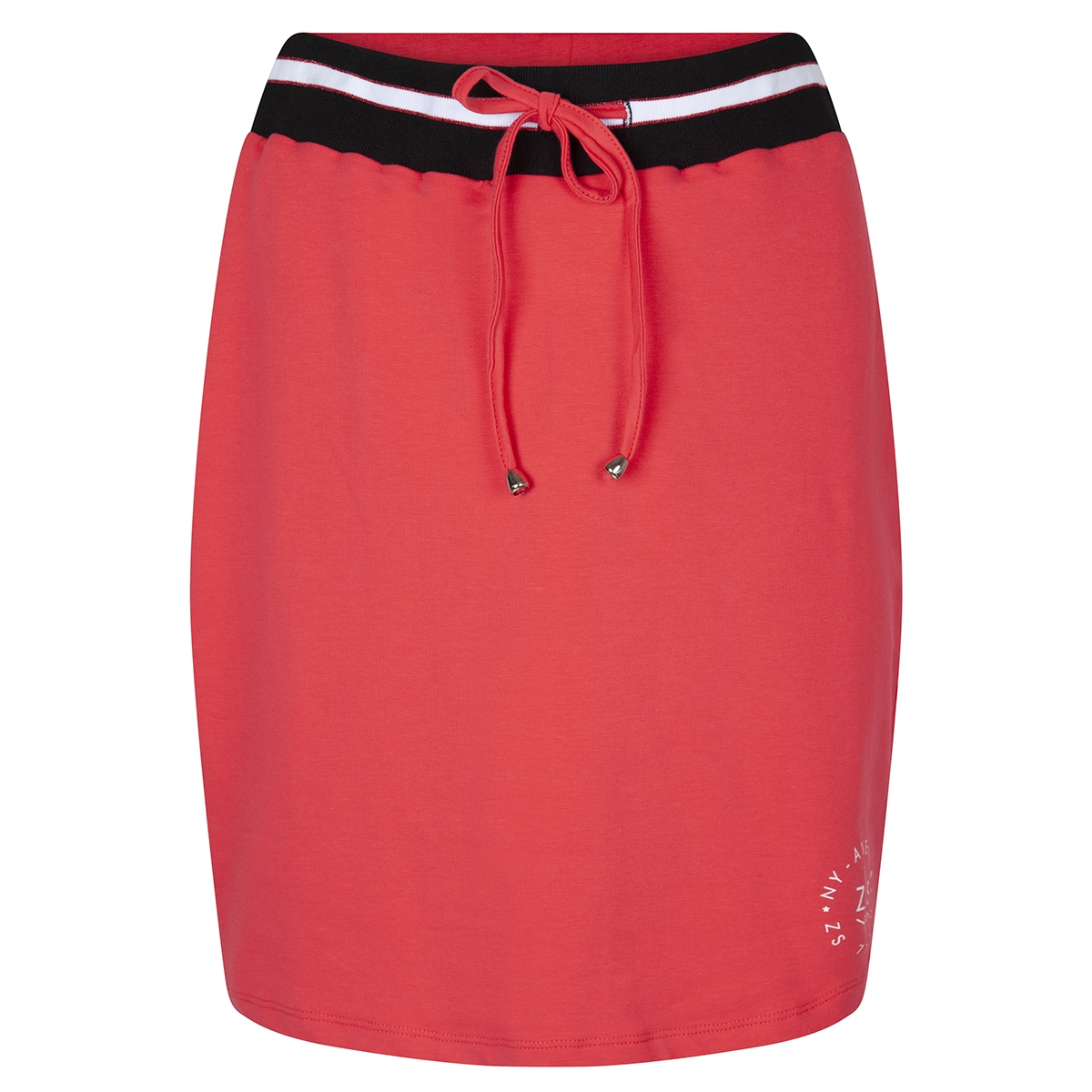 skita skirt with striped 193 zoso rok red/ black