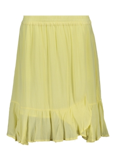 Saint Tropez Rok WOVEN SKIRT ABOVE ON KNEE T8018 2041 YELLOW