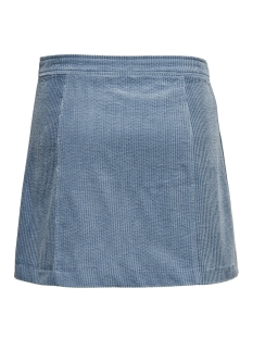 onlproud corduroy button skirt pnt 15182040 only rok faded denim