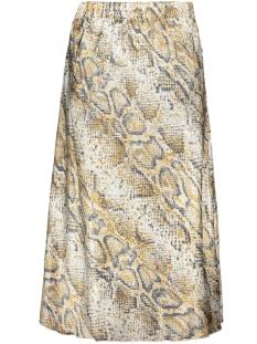 vmchristas satin h/w skirt sb6 10222255 vero moda rok pristine/snake