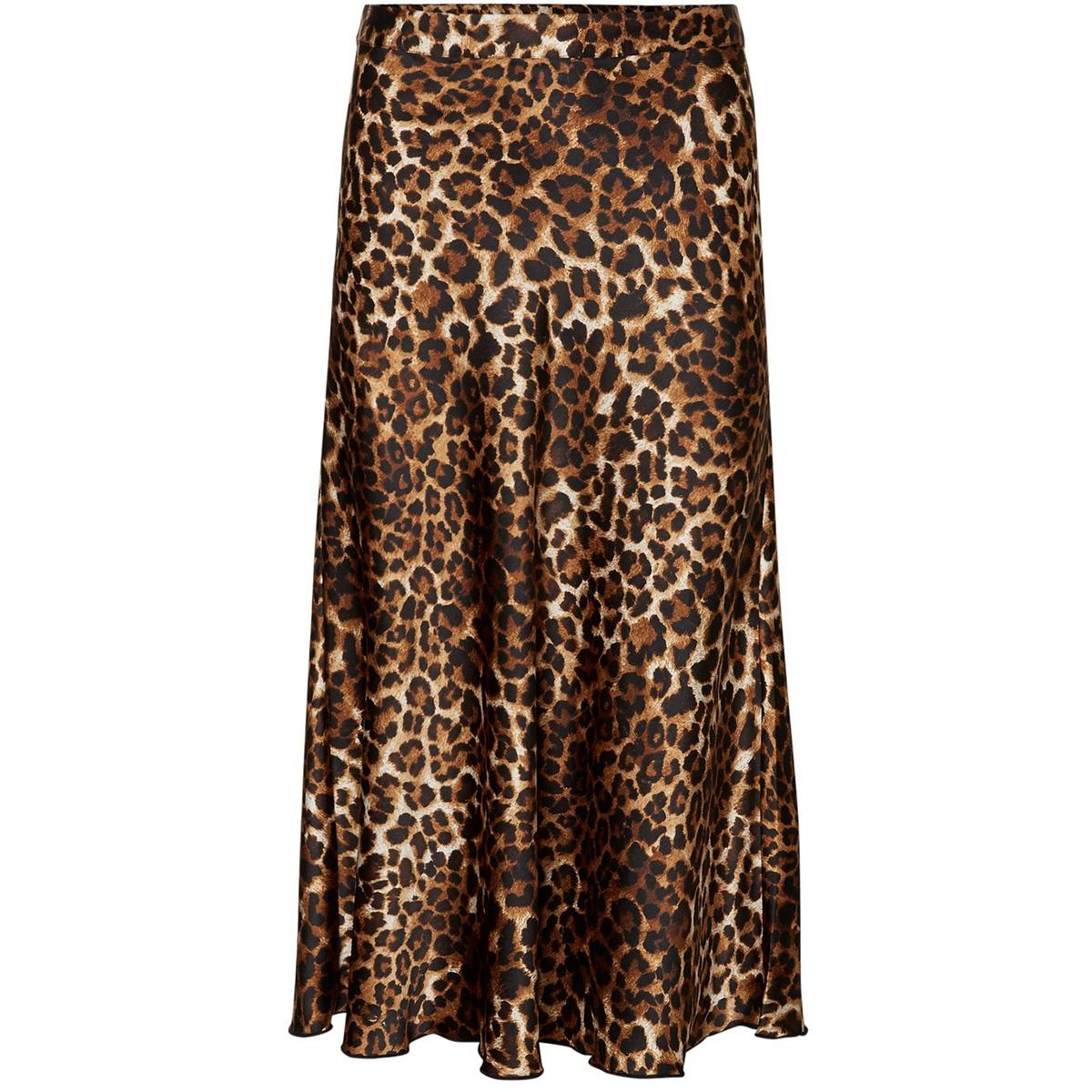 vmchristas satin h/w skirt sb6 10222255 vero moda rok birch/leo