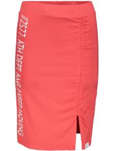 studio skirt 193 zoso rok red/white