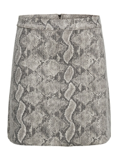 Only Rok ONLJOSE FAUX SUEDE SNAKE SKIRT OTW 15184996 Pumice Stone/SNAKE
