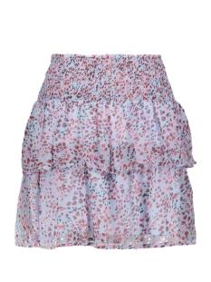 vmwonda h/w smock short skirt exp 10217174 vero moda rok cashmere blue