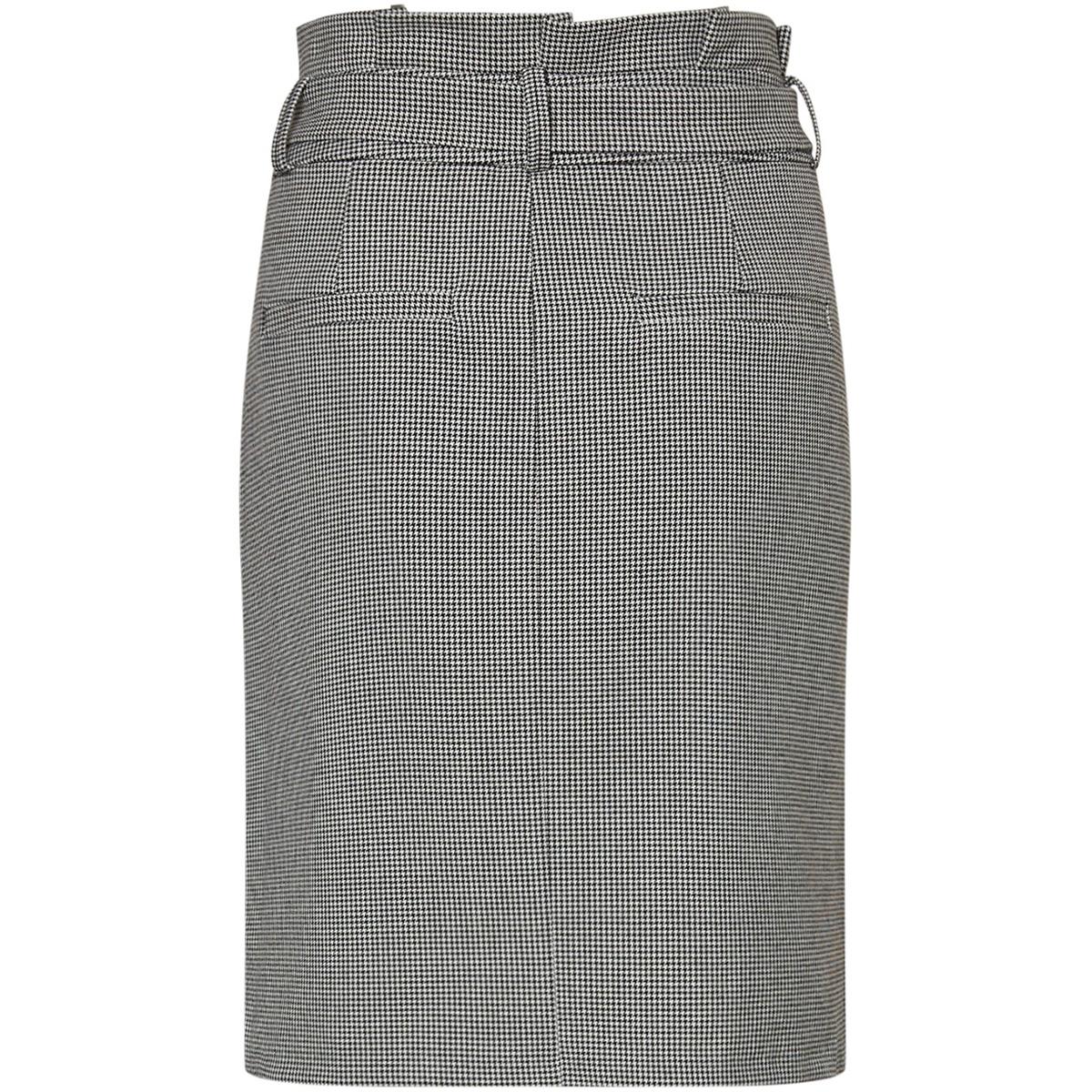 vmeva hr paperbag short ht skirt co 10219960 vero moda rok black/white hound
