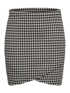 Only Rok ONLVIGGA HOUNDSTOOTH SKIRT JRS 15185377 Cloud Dancer/houndstoot