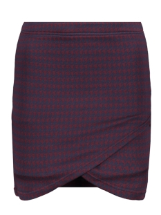 Only Rok ONLVIGGA HOUNDSTOOTH SKIRT JRS 15185377 Night Sky/houndstoot