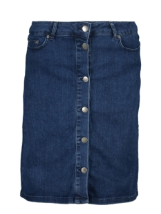Saint Tropez Rok SKIRT DENIM U8013 510D MED BLUE