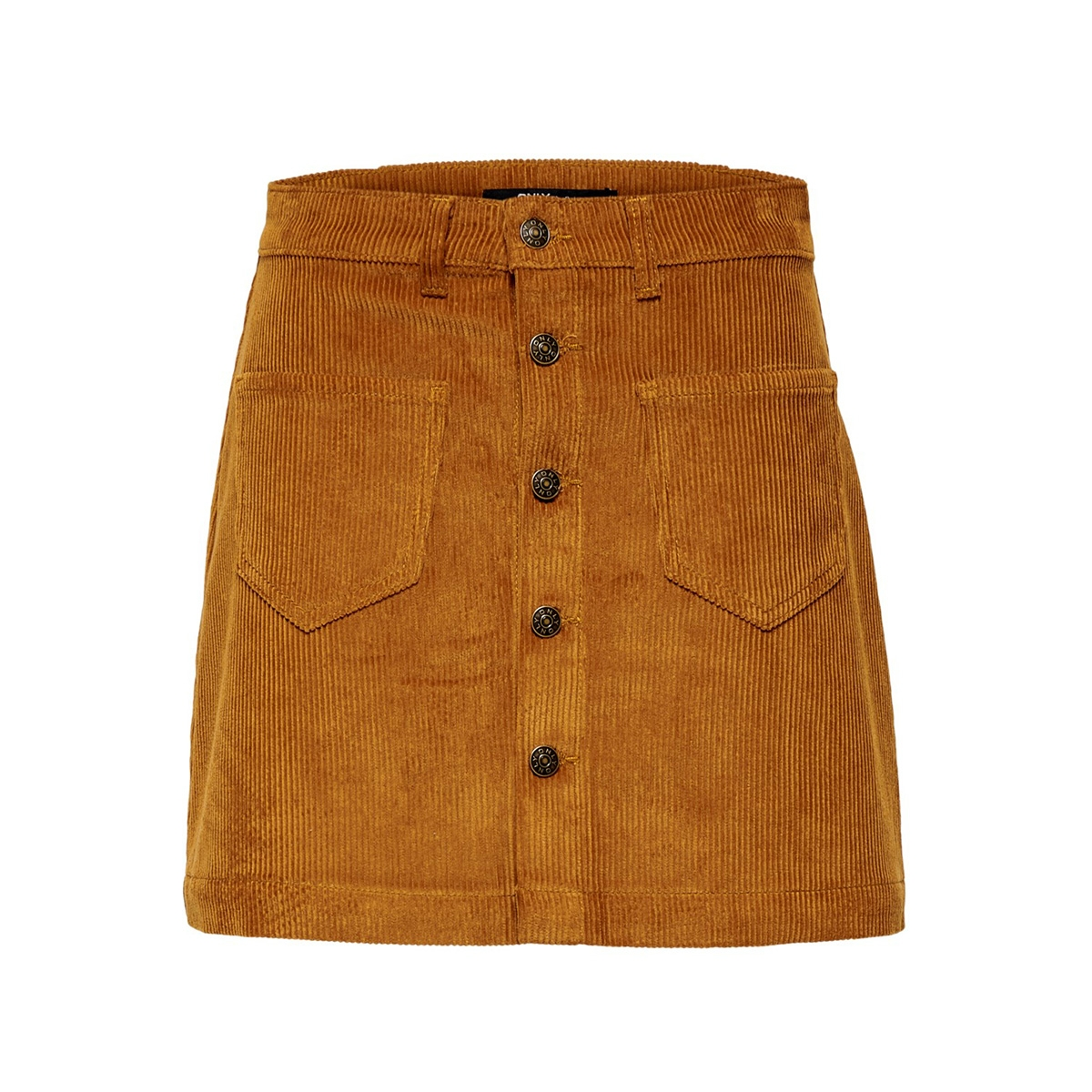 onlamazing hw corduroy skirt pnt 15182080 only rok rustic brown