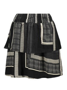 Vero Moda Rok VMQUINN SHORT LAYER SKIRT VIP 10223584 Black