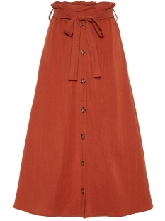 Pieces Rok PCHEDWIG HW MIDI SKIRT 17098586 Picante