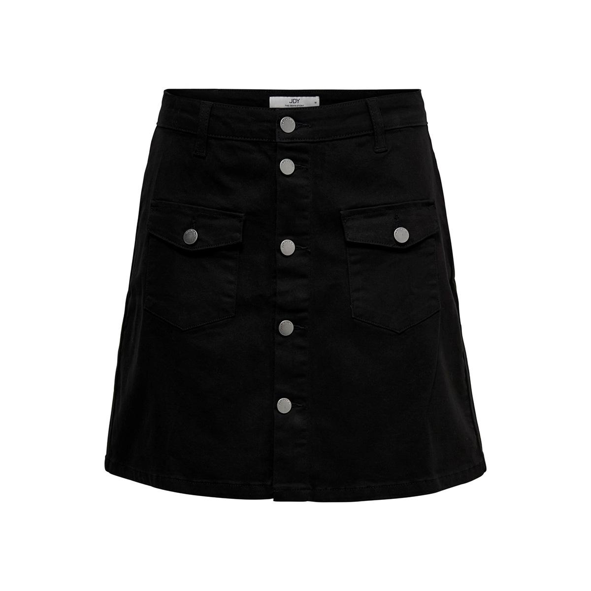 jdyfive button skirt  pnt 15182666 jacqueline de yong rok black