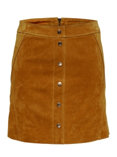 onlyasmin suede skirt otw 15182893 only rok honey ginger