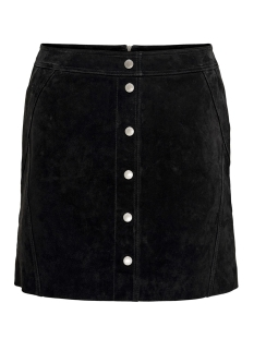 Only Rok ONLYASMIN SUEDE SKIRT OTW 15182893 Black
