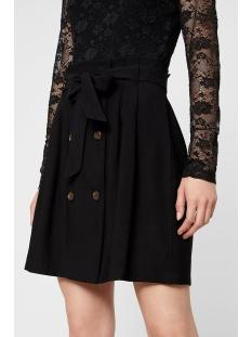 vmcleo h/w short skirt wvn 10219565 vero moda rok black