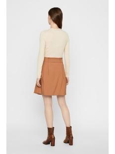 vmcleo h/w short skirt wvn 10219565 vero moda rok tobacco brown