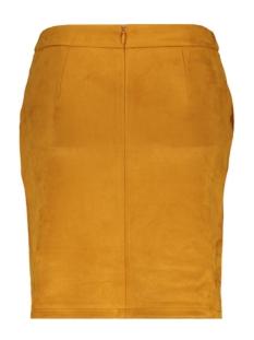 vifaddy skirt/l 14056291 vila rok golden oak/fake suede
