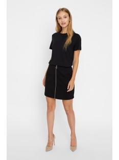 vmcisse hw zip skirt jrs ki 10221496 vero moda rok black