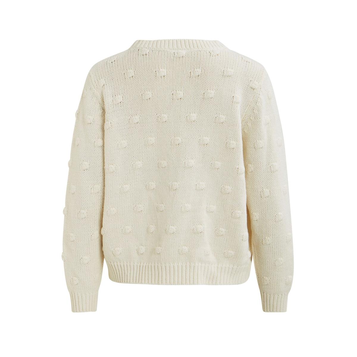 vironjo knit l/s cardigan 14053566 vila vest whisper white