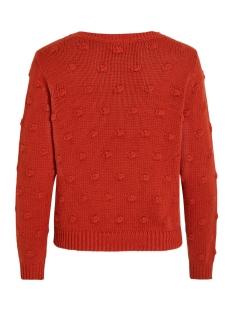 vironjo knit l/s top ki 14053565 vila trui ketchup