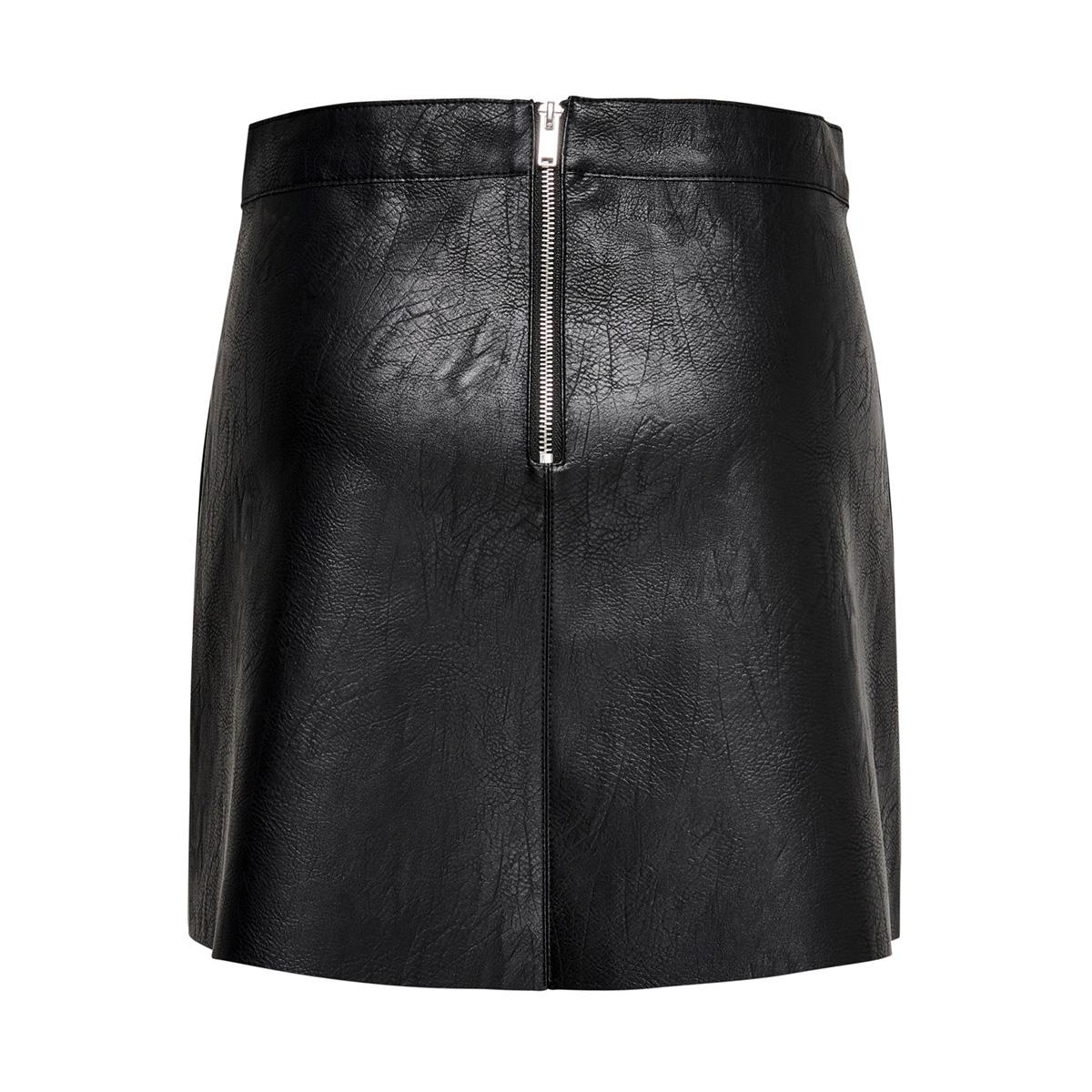 onyasha faux leather skirt otw 15184886 only rok black