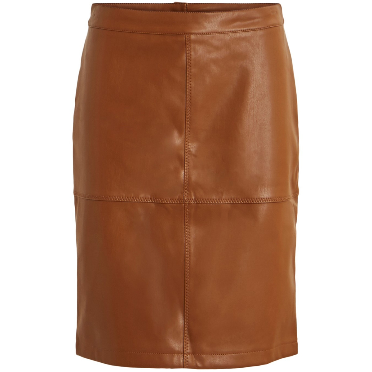 vipen new skirt-fav 14043497 vila rok oak brown