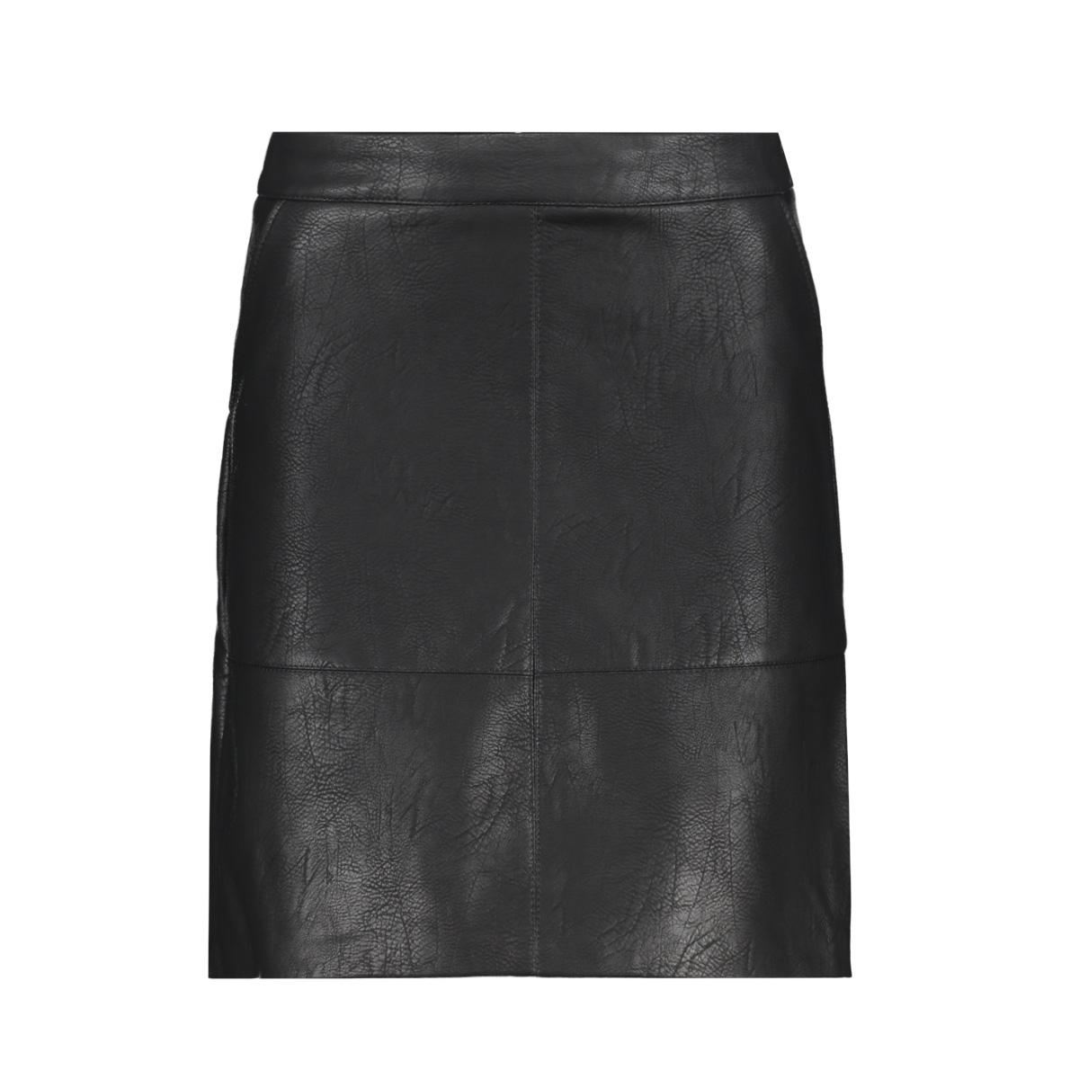 onllisa faux leather short skirt ot 15149113 only rok black